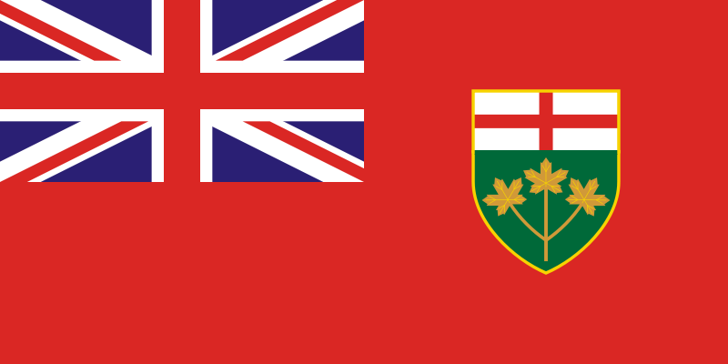 Ontario Flag