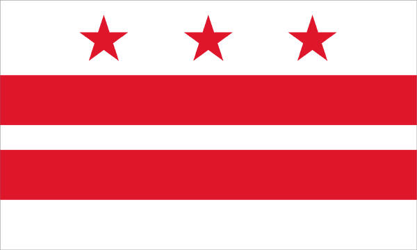 Washington D.C. Flag