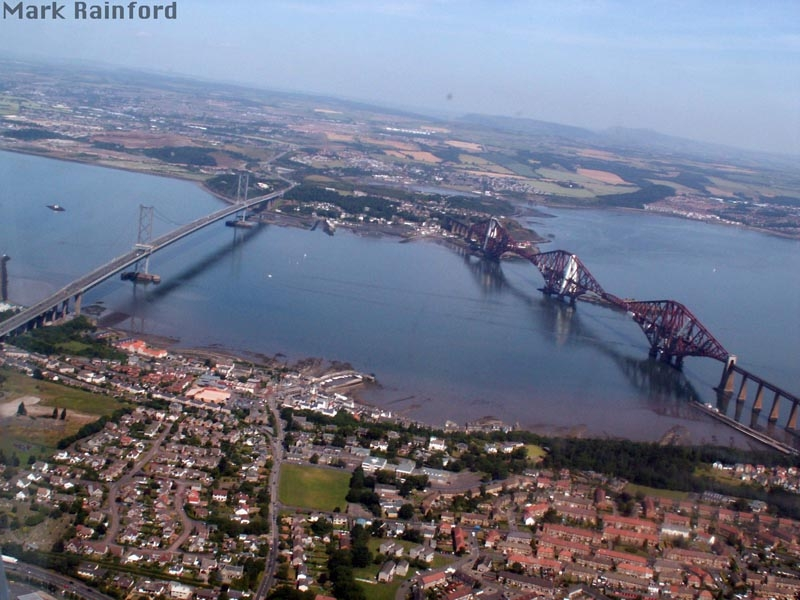 The Forth Rail & Road Bridge