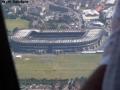 Above Edinburgh - Murrayfield Stadium