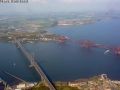 Aerial Edinburgh - Forth Bridges