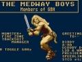 Medway Boys - Menu 1