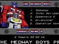 Medway Boys - Menu 9