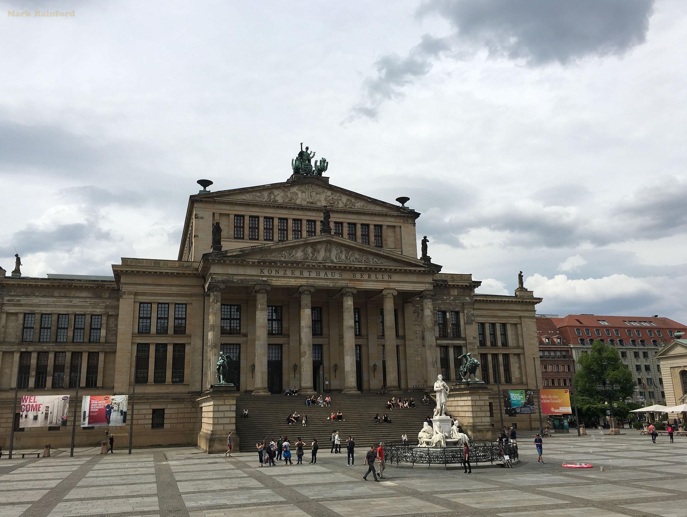 Berlin Germany Konzerthaus Gendarmenmarkt