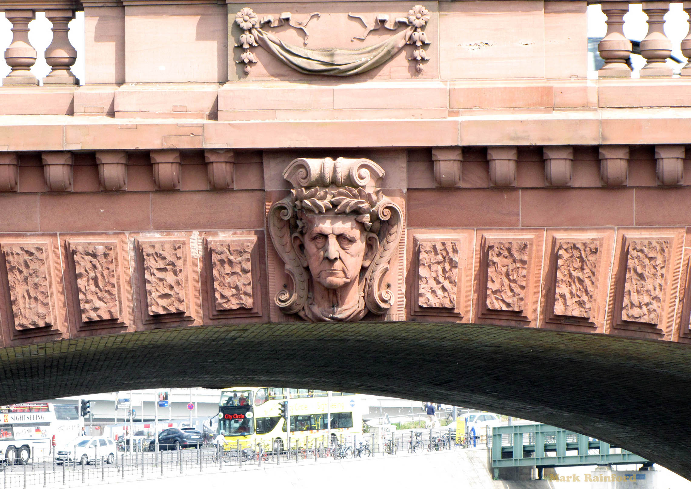 Berlin Germany Moltke Bridge Helmuth von Moltk