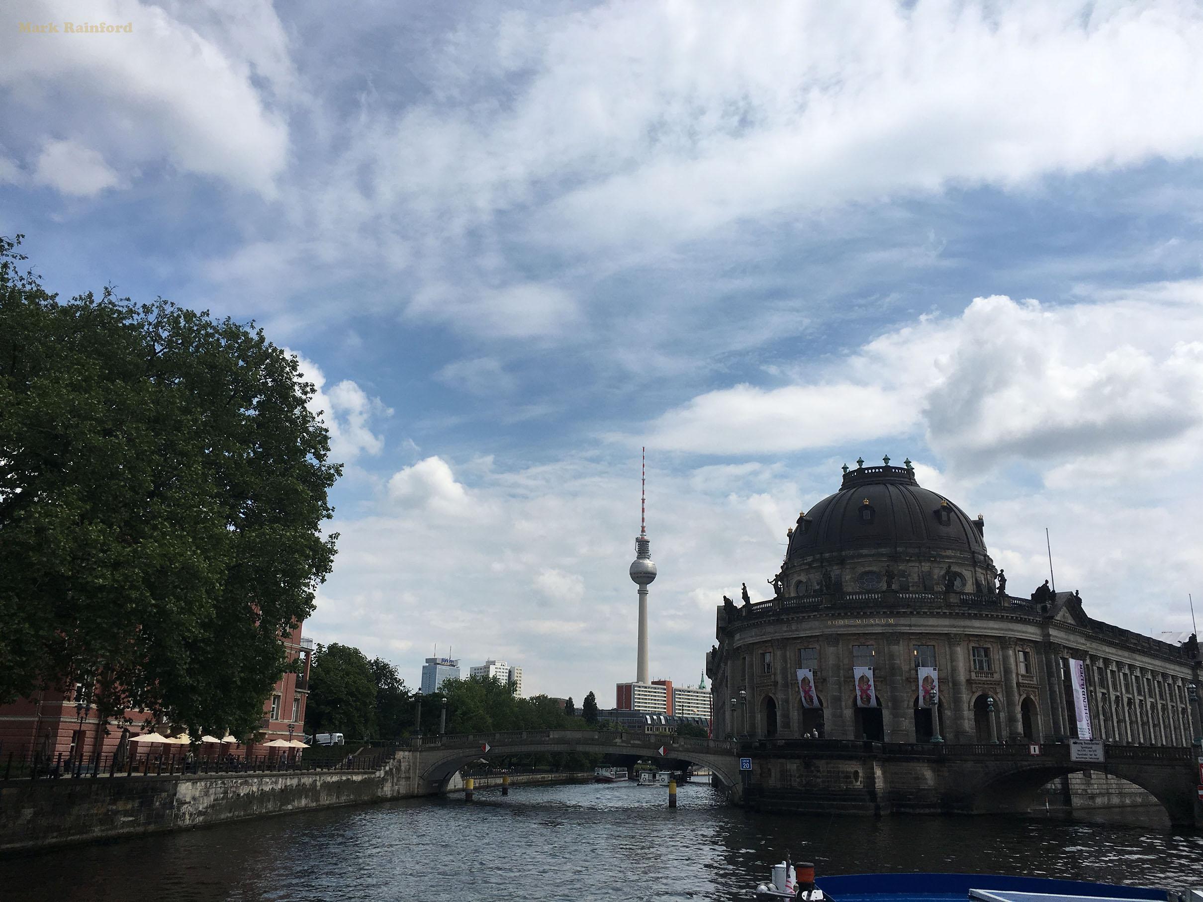 Berlin Germany Museum Island Fernsehturm