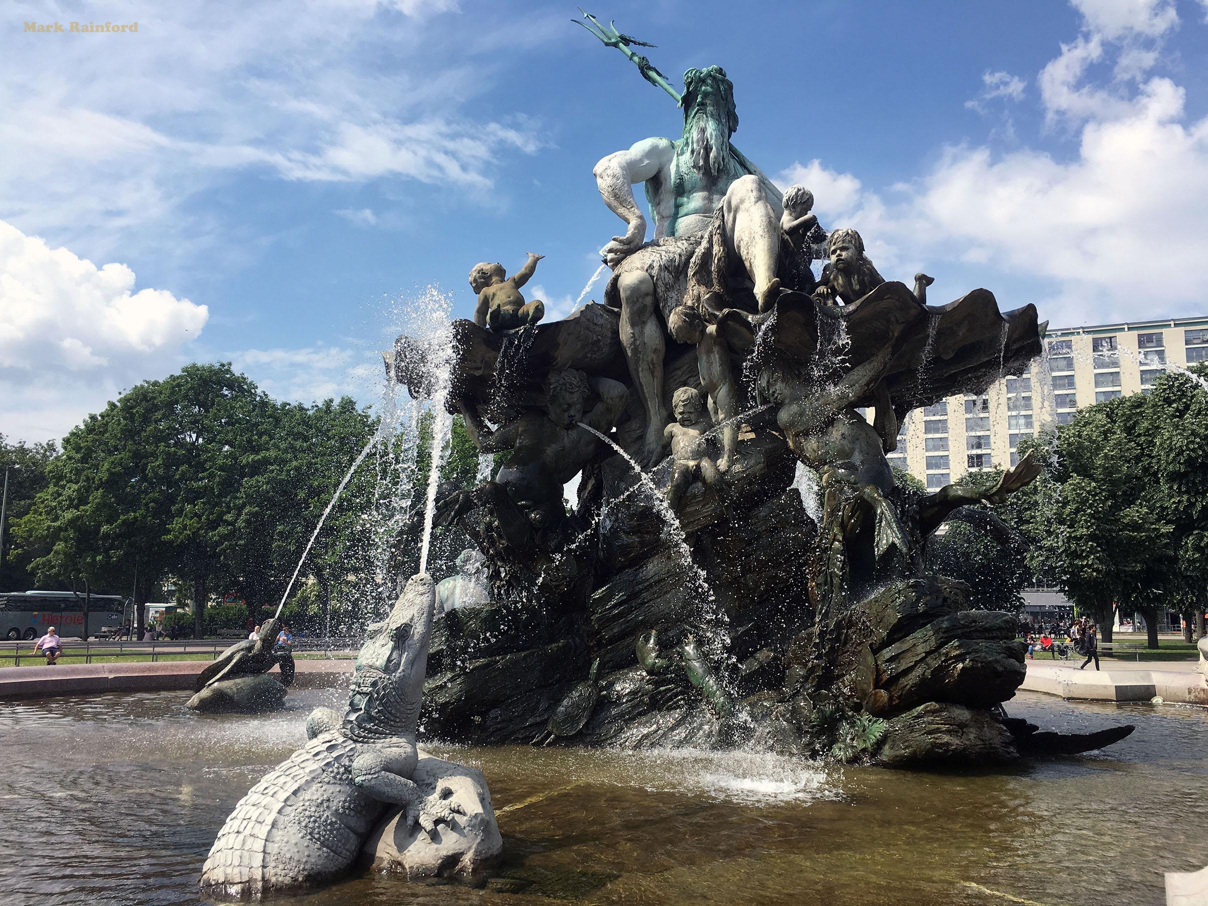 Berlin Germany Neptunbrunnen