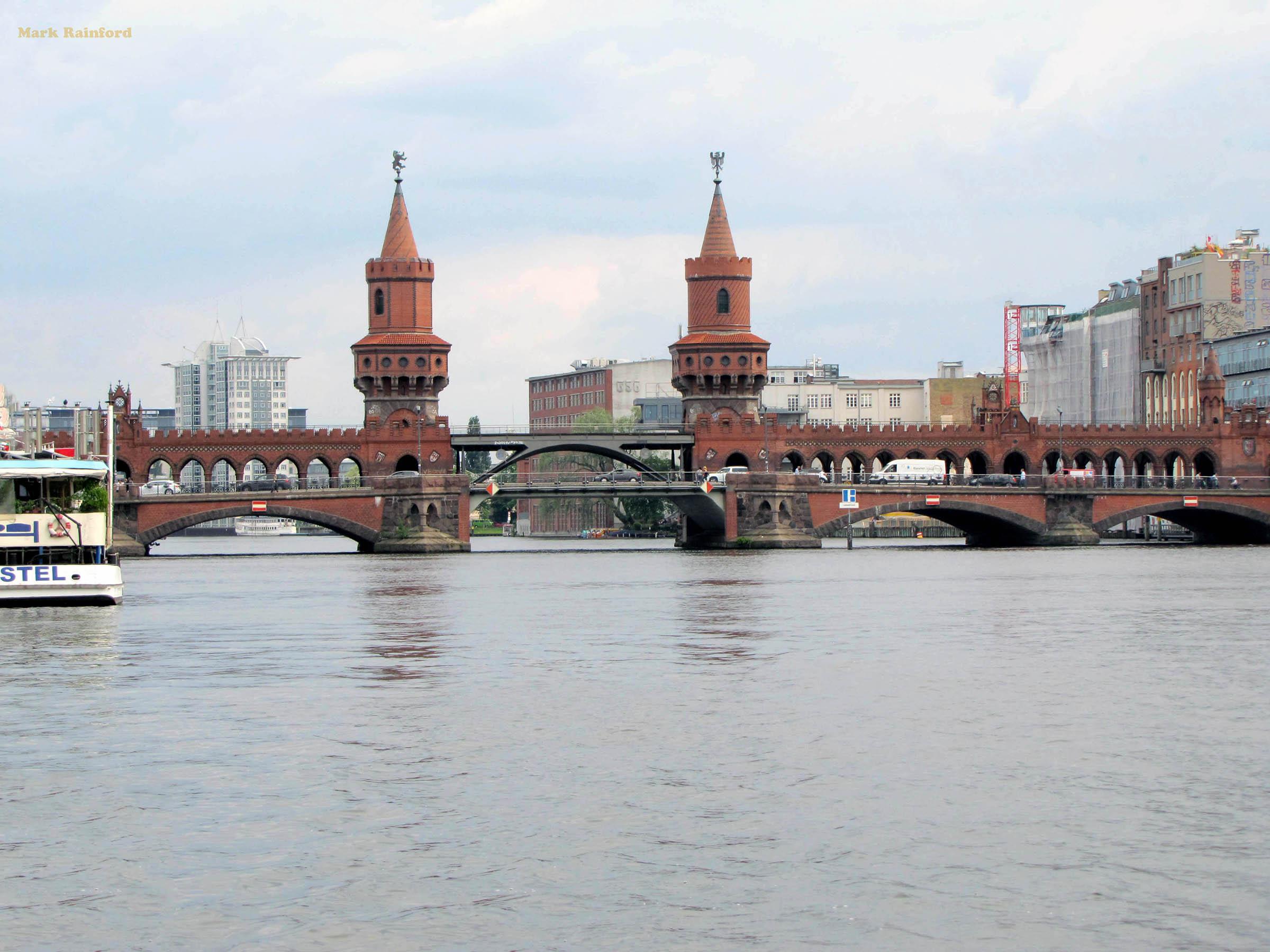 Berlin Germany Oberbaum Bridge