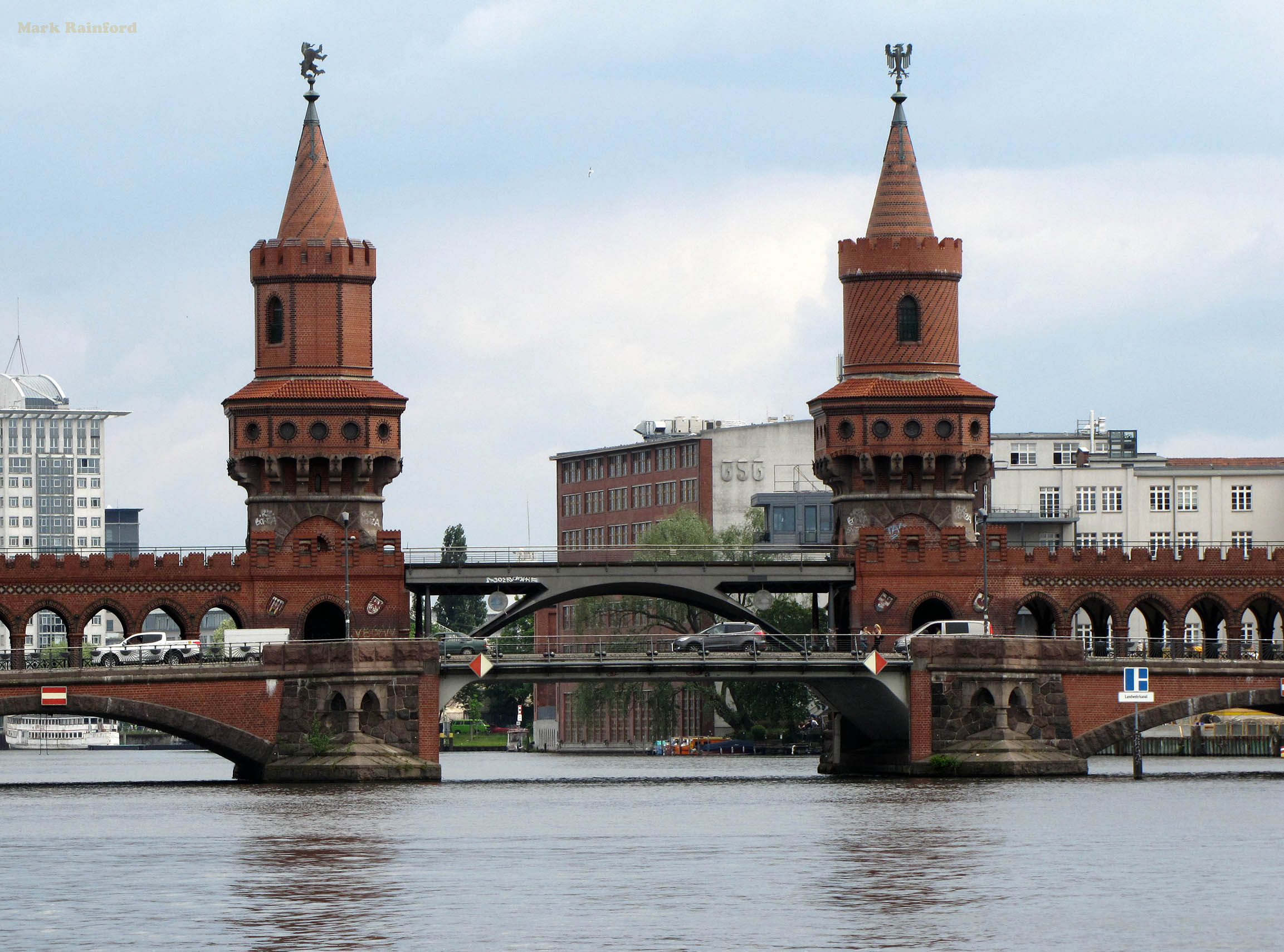 Berlin Germany Oberbaum Bridge