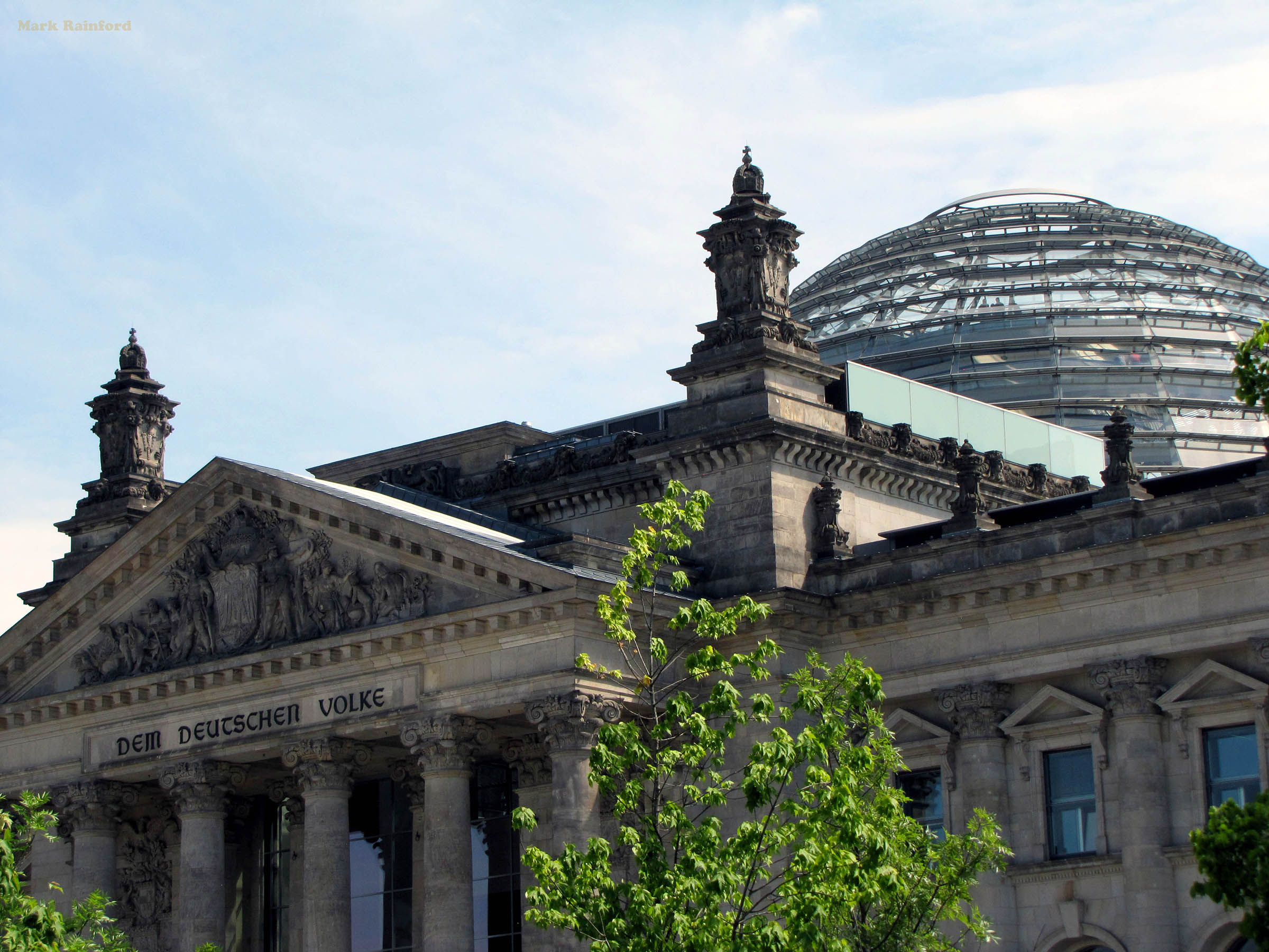 Berlin Germany Reichstag Dome