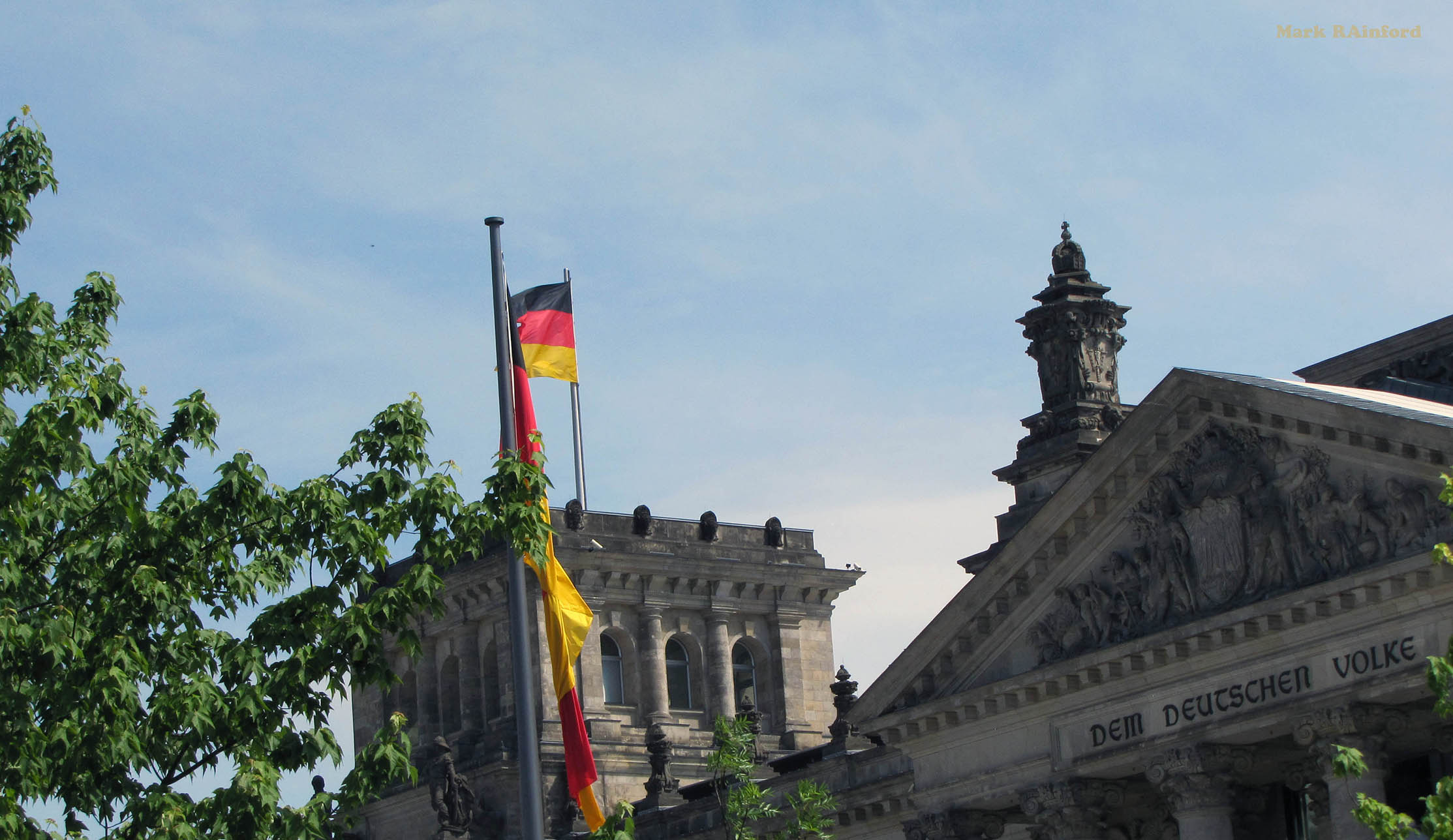Berlin Germany Reichstag building