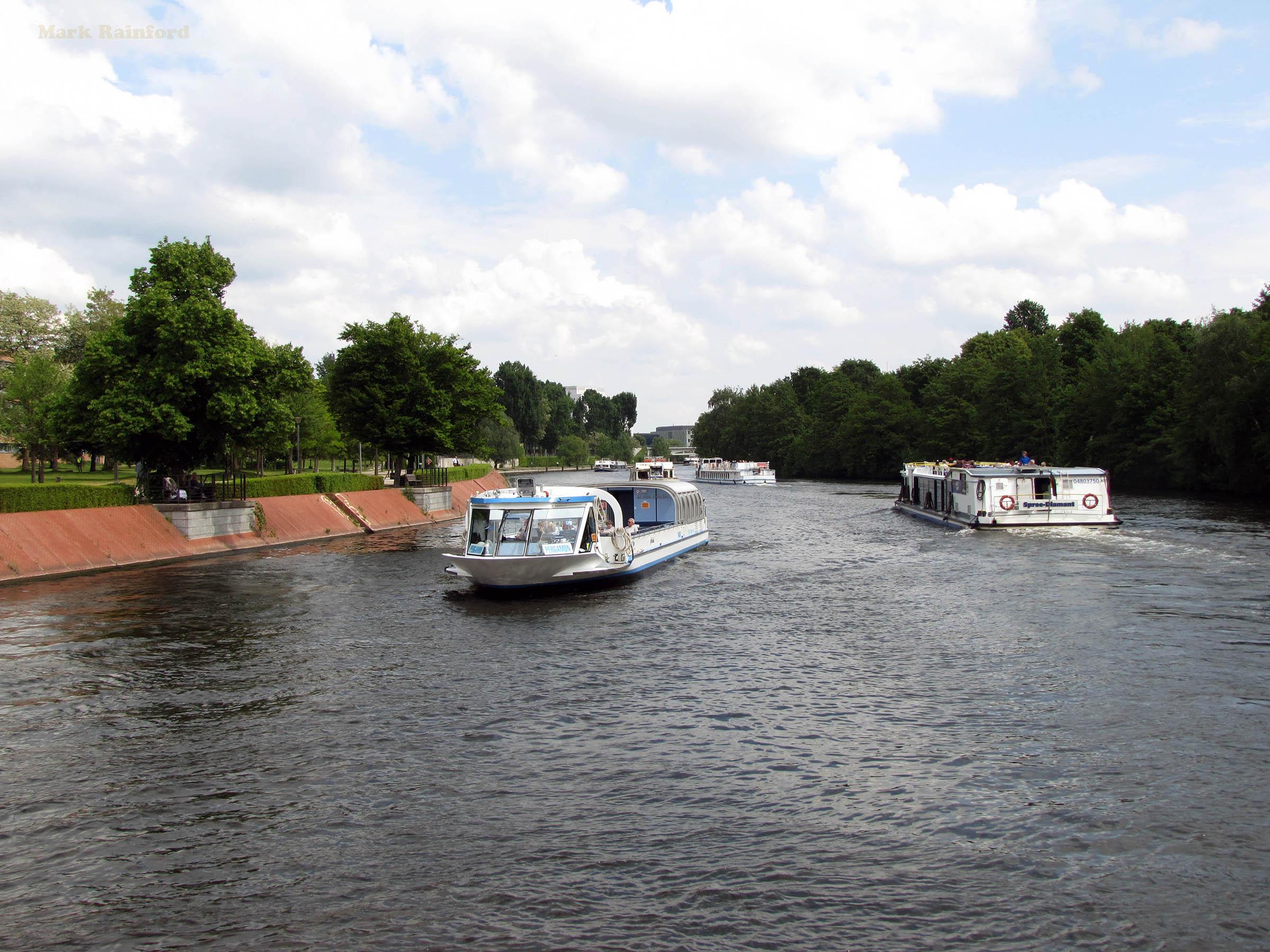 Berlin Germany River Spree