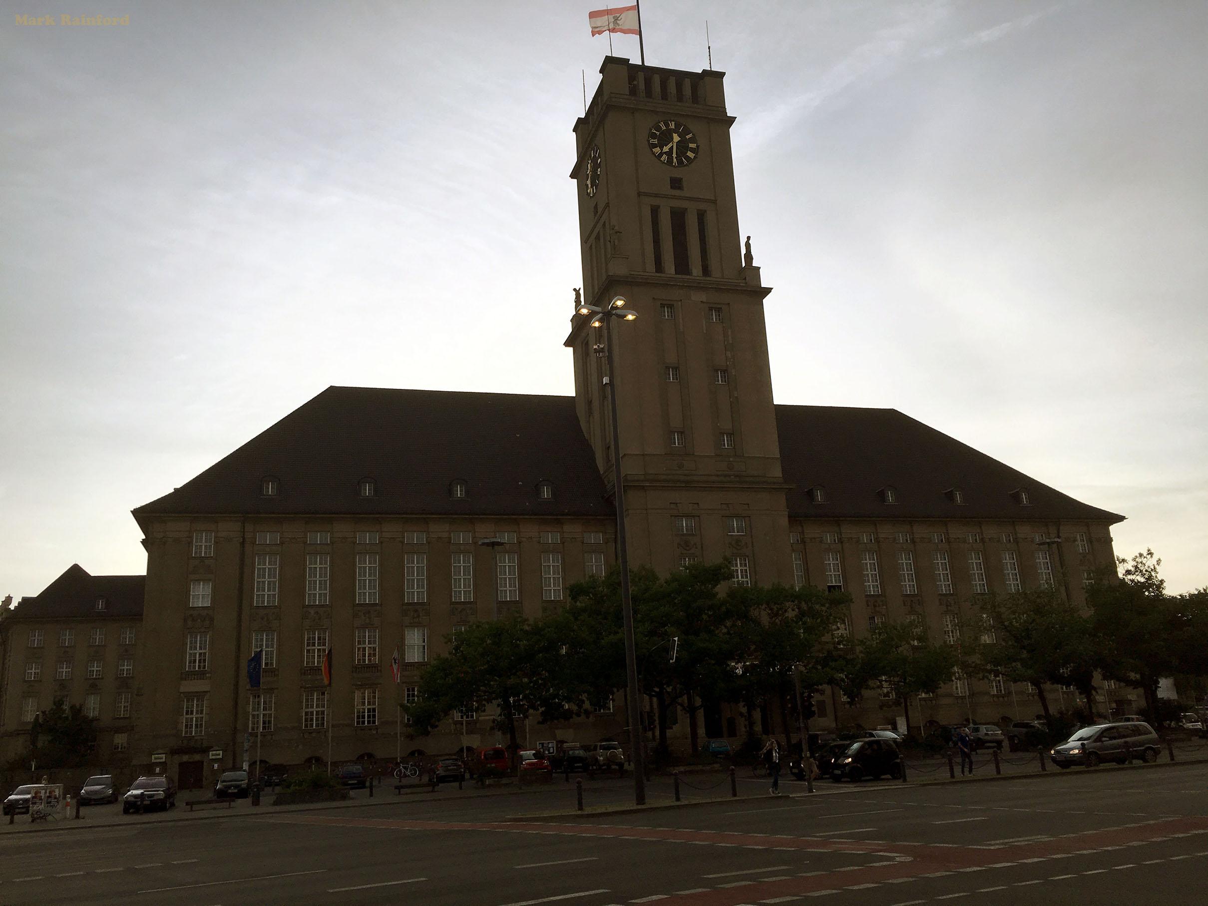 Berlin Germany Schöneberg Town Hall