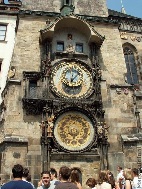 Prague, astronomical clock