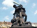 Czech Republic, Prague - Prague Castle Fighting Giants