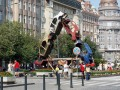Czech Republic, Prague - Wenceslas Square Art Sculptures