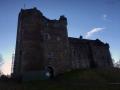 Doune Castle – northeast corner