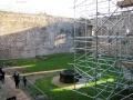 Doune Castle – repair works