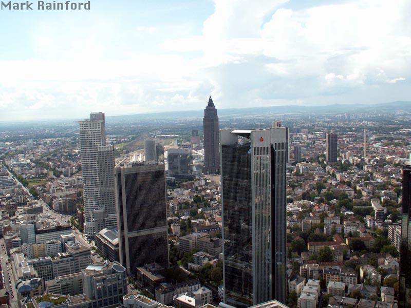 Frankfurt am Main - View From Europaturm