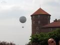 Kraków, Wawel Royal Castle with Kraków Balloon