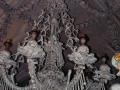 Kutná Hora, Czech Republic - edlec Ossuary Church Of Bones, Chandelier
