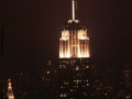 View From The Rockefeller Center At Night