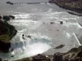 Ontario, Canada.  Niagara Falls The Horseshoe Falls - Aerial Photo