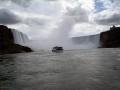 Ontario, Canada.  Niagara Falls The Horseshoe Falls & The Maid Of The Mist