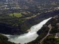 Ontario, Canada.  Niagara Falls Niagara Gorgre - Aerial Photo