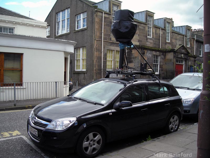 Google Car @ Portobello