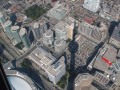 Toronto Ontario Canada CN Tower Looking Down