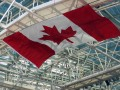 Toronto Ontario Canada Maple Leaf Flag