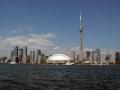 Toronto Ontario Canada Skyline CN Tower Rogers Centre