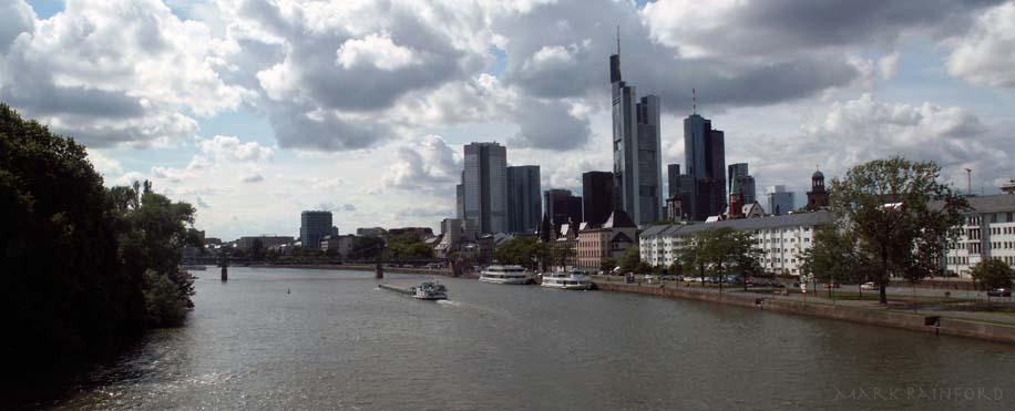 Frankfurt au Main Skyline