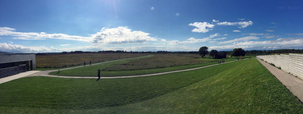 Panoramic of Culloden Battlefield