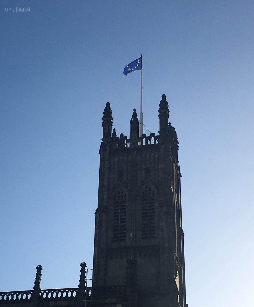 St John Euro Flag