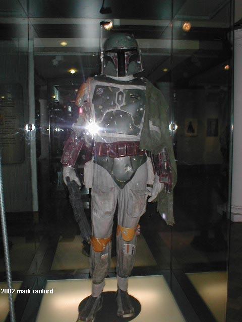 Boba Fett - The Art of Star Wars Edinburgh 2002