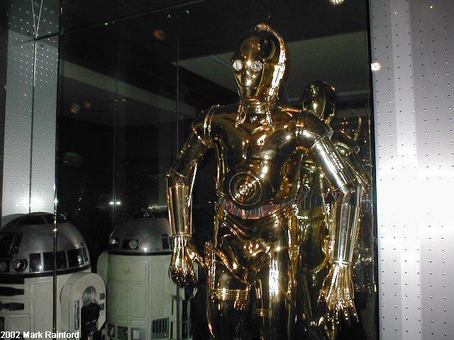 C3 P0 - The Art of Star Wars Edinburgh 2002