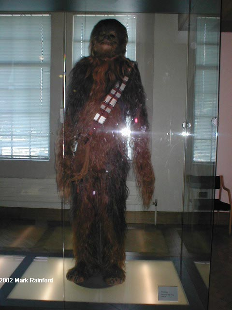 Chewbacca - The Art of Star Wars Edinburgh 2002