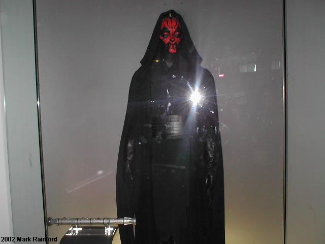 Darth Maul - The Art of Star Wars Edinburgh 2002
