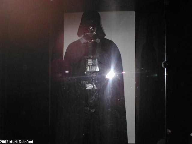 Darth Vadar - The Art of Star Wars Edinburgh 2002