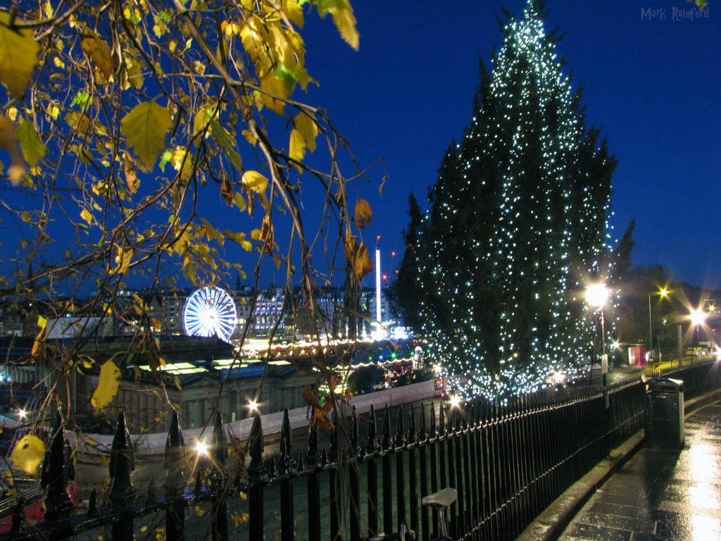 Edinburgh Christmas 2018 Mound Tree