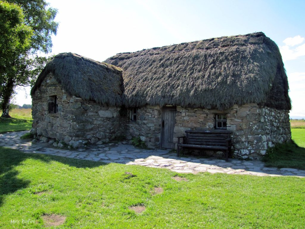 Old Leanach Cottage - Culloden