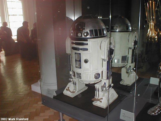 R2 D2 - The Art of Star Wars Edinburgh 2002