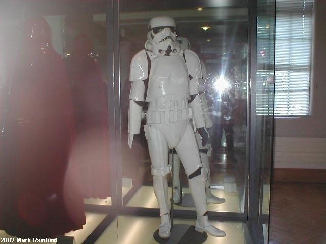 Stormtrooper - The Art of Star Wars Edinburgh 2002
