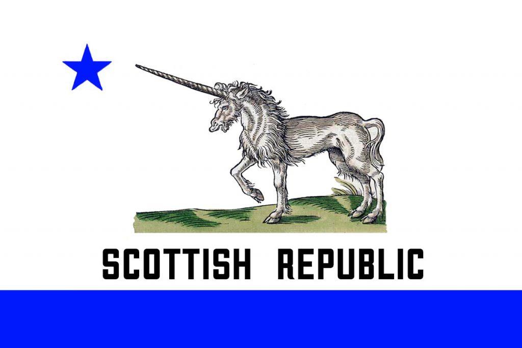 Scottish Republic Flag