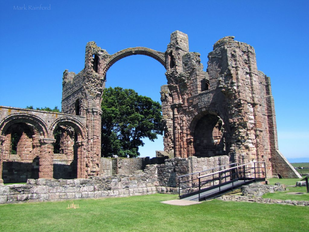 Holy Island - Lindisfarne Priory