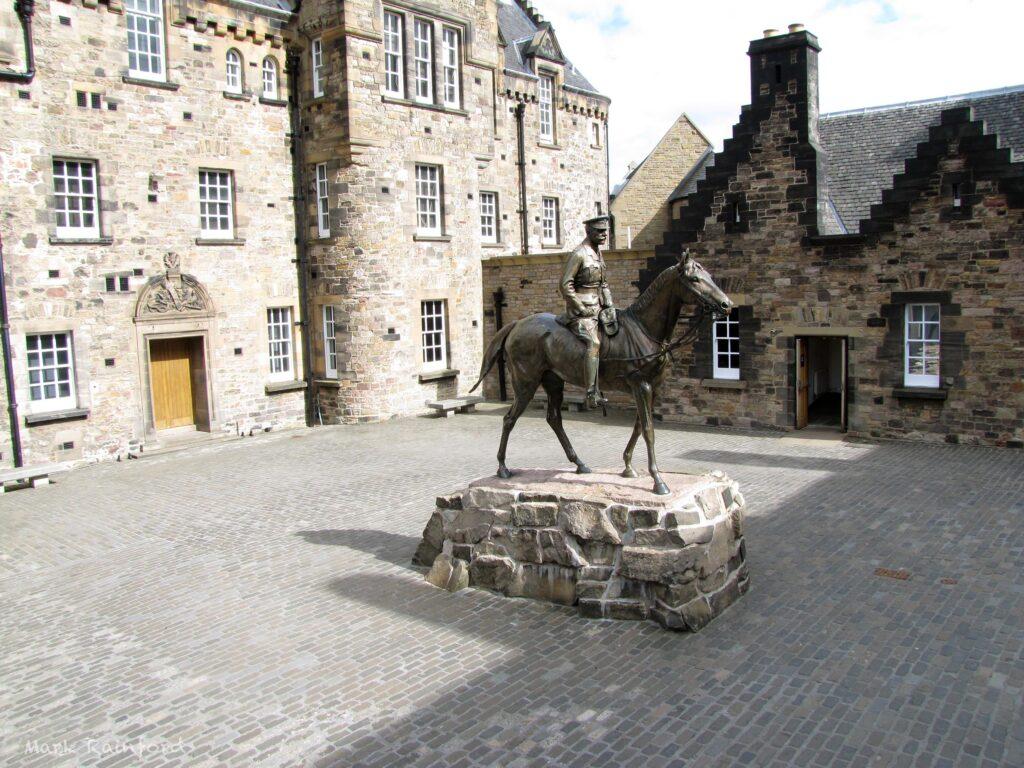 Ensign Ewart Statue