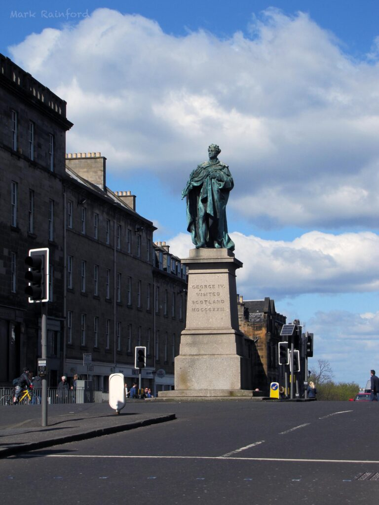 George IV Statue