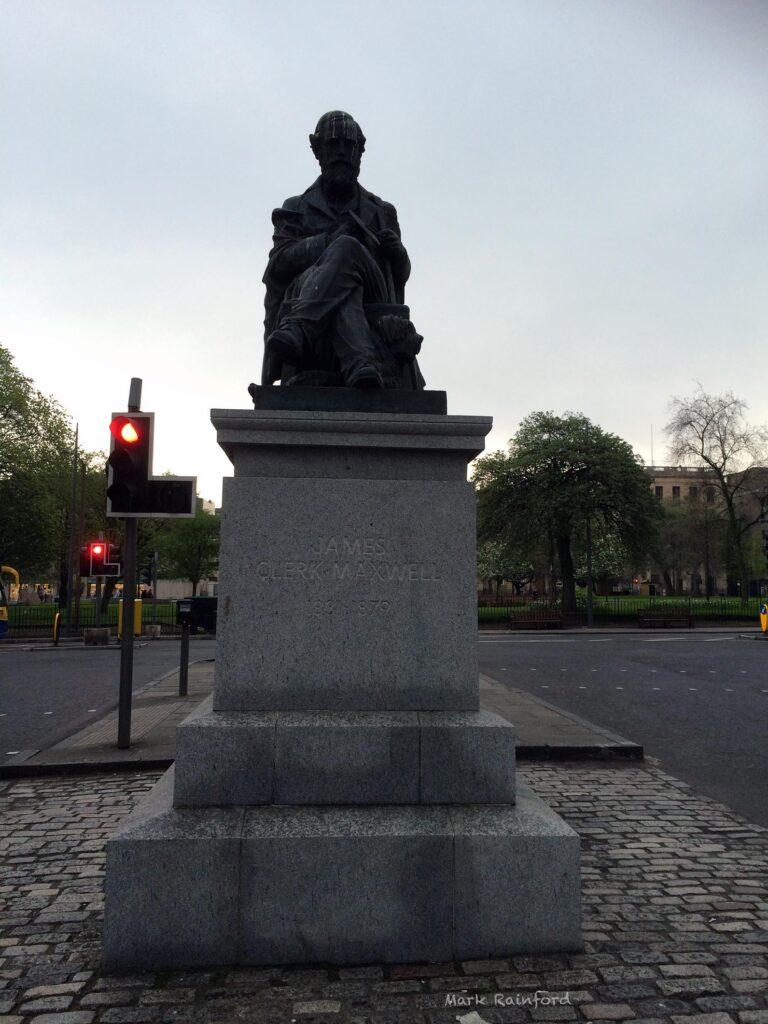 James Clerk Maxwell Statue